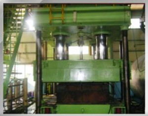 Vulcanizing facility - 750Ton press