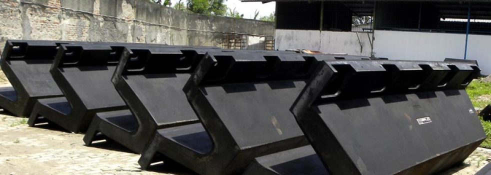Choosing the right type of marine rubber fender